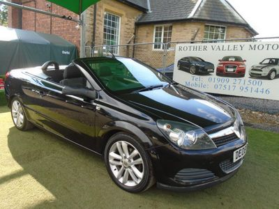 Vauxhall Astra Convertible 1.6 i TwinAir Air Twin Top 2dr