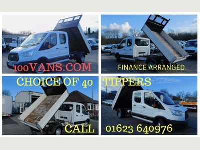 Ford Transit Tipper 2.2TDCI 350 L3 LWB DOUBLE CAB TIPPER
