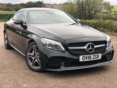 Mercedes-Benz C Class Coupe 2.0 C220d AMG Line (Premium) G-Tronic+ (s/s) 2dr