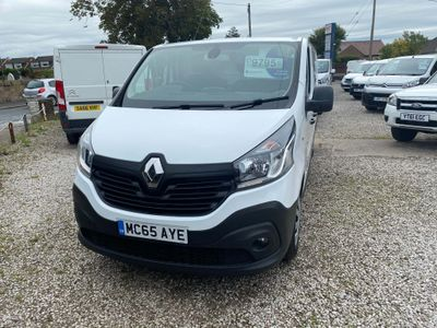 Renault Trafic Panel Van 1.6 dCi ENERGY 29 Business LWB Standard Roof EU5 (s/s) 5dr