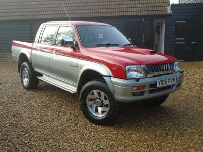 Mitsubishi L200 Pickup 2.5 TD Animal Limited Edition Crewcab Pickup 4dr