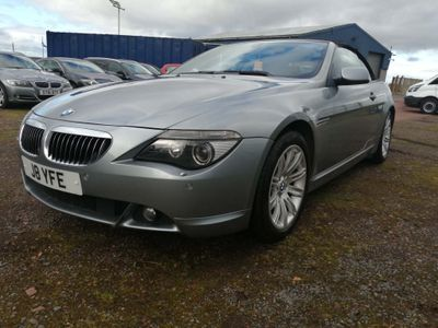 BMW 6 Series Convertible 4.4 645Ci Convertible 2dr Petrol Automatic (279 g/km, 333 bhp)