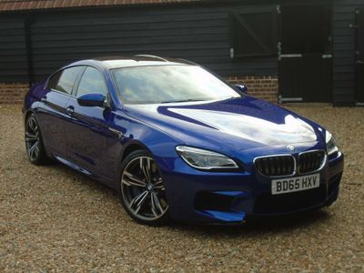 BMW M6 Gran Coupe Saloon 4.4 V8 Gran Coupe DCT (s/s) 4dr