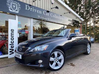 Lexus IS 250 Convertible 2.5 SE-L 2dr