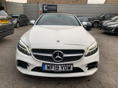 Mercedes-Benz C Class Coupe 2.0 C220d AMG Line (Premium Plus) G-Tronic+ (s/s) 2dr