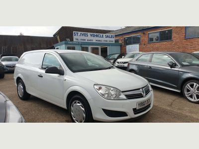 Vauxhall Astra Van Panel Van 1.3 CDTi 16v Club Panel Van 3dr