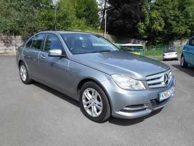 Mercedes-Benz C Class Saloon 2.1 C200 CDI BlueEFFICIENCY SE (Executive) 7G-Tronic Plus 4dr (Map Pilot)