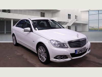 Mercedes-Benz C Class Saloon 2.1 C200 CDI BlueEFFICIENCY Elegance Edition 125 7G-Tronic 4dr