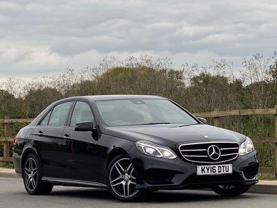 Mercedes-Benz E Class Saloon 2.1 E220 CDI BlueTEC AMG Night Edition 7G-Tronic Plus 4dr