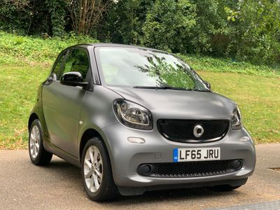 Smart fortwo Coupe 1.0 Passion (Premium) Twinamic (s/s) 2dr