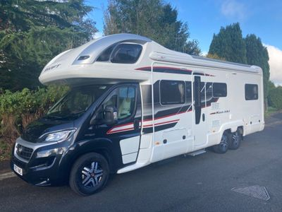 Swift Kon-Tiki 649 Coach Built 2300 MILES 6 BERTH 6 BELTS DELIVERY POSSIBLE