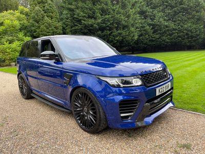 Land Rover Range Rover Sport SUV 5.0 V8 SVR CommandShift 2 4WD (s/s) 5dr