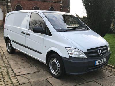 Mercedes-Benz Vito Panel Van 2.1 113CDI Compact Panel Van 5dr (EU5)