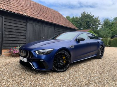 Mercedes-Benz AMG GT Coupe 4.0 63 V8 BiTurbo S (Premium Plus) SpdS MCT 4MATIC+ (s/s) 4dr