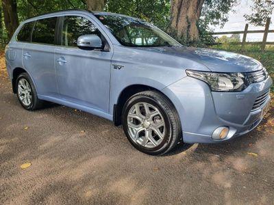 Mitsubishi Outlander SUV 2.0 GX4hs 4x4 5dr (5 seats)