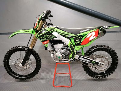 Kawasaki KX450F Motocrosser 450