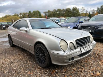 Mercedes-Benz CLK Coupe 2.3 CLK230 Kompressor Avantgarde 2dr