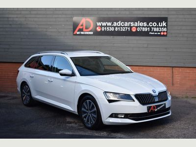 SKODA Superb Estate 1.6 TDI Greenline SE L Executive (s/s) 5dr