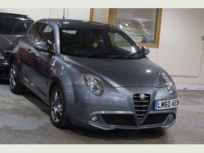 Alfa Romeo MiTo Hatchback 1.4 TB MultiAir Cloverleaf (s/s) 3dr