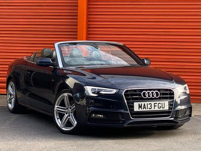 Audi A5 Cabriolet Convertible 2.0 TDI S line Cabriolet (s/s) 2dr
