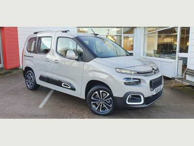Citroen Berlingo MPV 1.5 BlueHDi Flair EAT8 (s/s) 5dr M