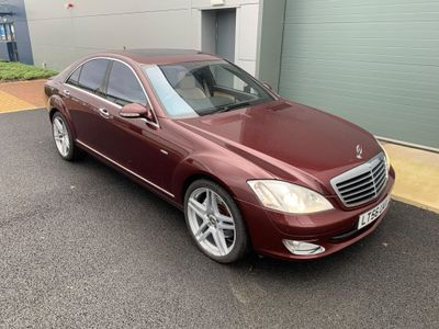 Mercedes-Benz S Class Saloon 5.5 S500 7G-Tronic 4dr