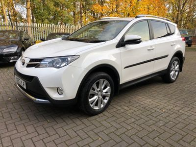 Toyota RAV4 SUV 2.2 D-CAT Invincible 4WD 5dr