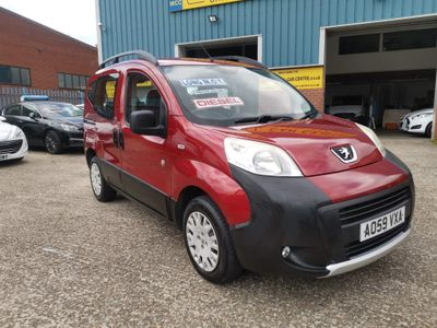 Peugeot Bipper Tepee MPV 1.4 HDi Outdoor 2-Tronic 5dr