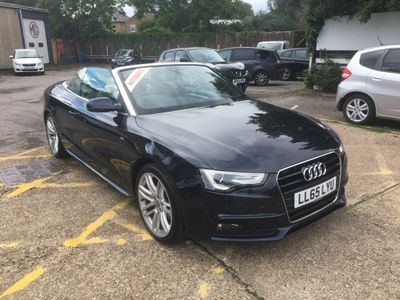 Audi A5 Cabriolet Convertible 1.8 TFSI S line Cabriolet Multitronic (s/s) 2dr