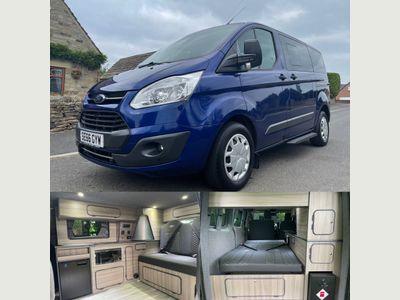 Ford Tourneo Custom Minibus 2.0 TDCi 310 Zetec Bus L1 5dr (8 Seats)