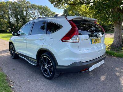 Honda CR-V SUV 2.2 i-DTEC Black Edition 4x4 5dr (dab)