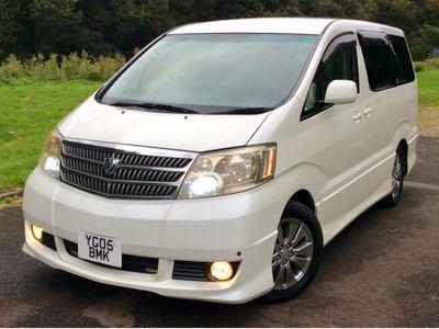 Toyota Alphard MPV 2.4 VVTi G Edition 8 seats Automatic