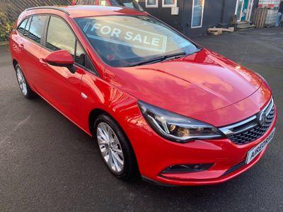 Vauxhall Astra Estate 1.0i Turbo ecoTEC Tech Line Nav Sports Tourer (s/s) 5dr