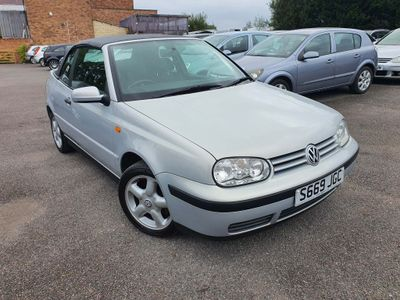 Volkswagen Golf Convertible 1.6 SE 2dr