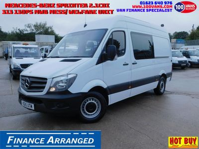Mercedes-Benz Sprinter Panel Van 2.1CDI 313 130PS MWB MESS/ WELFARE UNIT