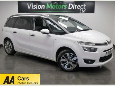 Citroen Grand C4 Picasso MPV 2.0 BlueHDi Exclusive 5dr