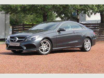 Mercedes-Benz E Class Coupe 2.1 E220 CDI BlueTEC AMG Line (Premium) 7G-Tronic Plus (s/s) 2dr