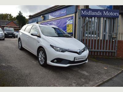 Toyota Auris Estate 1.8 VVT-h Icon Touring Sports CVT (s/s) 5dr
