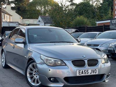 BMW 5 Series Saloon 2.5 525d M Sport 4dr