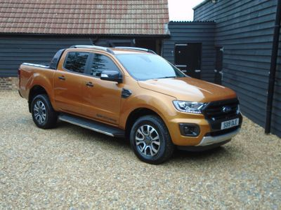 Ford Ranger Pickup 2.0 EcoBlue Wildtrak Double Cab Pickup Auto 4WD (s/s) 4dr