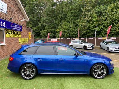 Audi A4 Avant Estate 2.0 TDI Black Edition Avant 5dr (Nav)