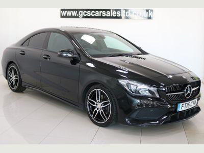 Mercedes-Benz CLA Class Coupe 2.1 CLA200d AMG Line 7G-DCT (s/s) 4dr
