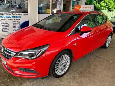 Vauxhall Astra Hatchback 1.4i Turbo Elite 5dr