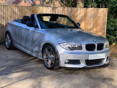 BMW 1 Series Convertible 2.0 120d Sport Plus Edition 2dr