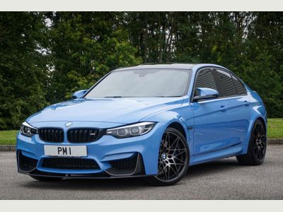 BMW M3 Saloon 3.0 BiTurbo Competition Pack Saloon 4dr Petrol DCT (s/s) (450 ps)