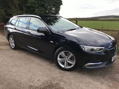Vauxhall Insignia Estate 2.0 Turbo D BlueInjection Tech Line Nav Sports Tourer (s/s) 5dr