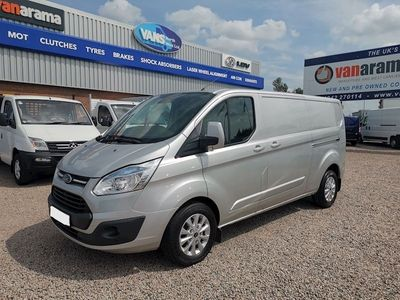 Ford Transit Custom Panel Van 290 Limited Lr P/V