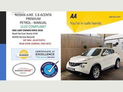 Nissan Juke SUV 1.6 16v Acenta Premium 5dr