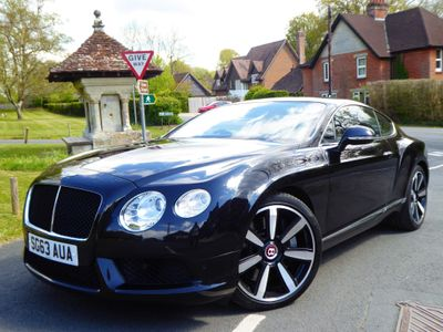 Bentley Continental Coupe 4.0 GT V8 Auto 4WD 2dr (EU5)