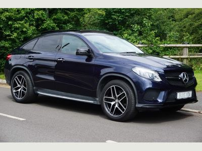 Mercedes-Benz GLE Class Coupe 3.0 GLE350d V6 AMG Line (Premium Plus) G-Tronic 4MATIC (s/s) 5dr
